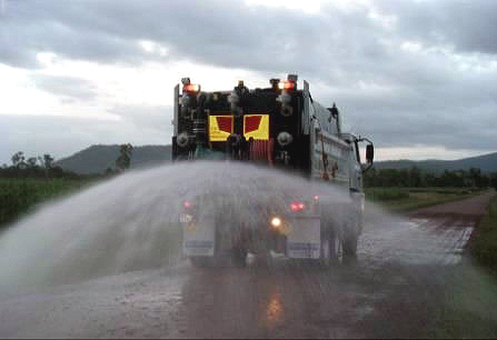 tank-spraying